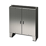 Saginaw Double Door, Stainless
